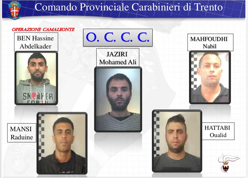 arresti operazione Camaleonte