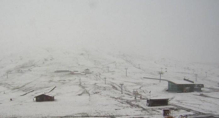 neve al Tonale a maggio