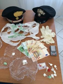 spaccio cocaina Vezzano