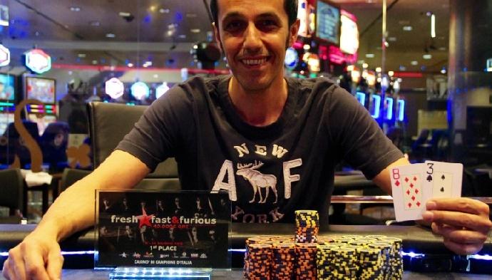 Corlito poker campione