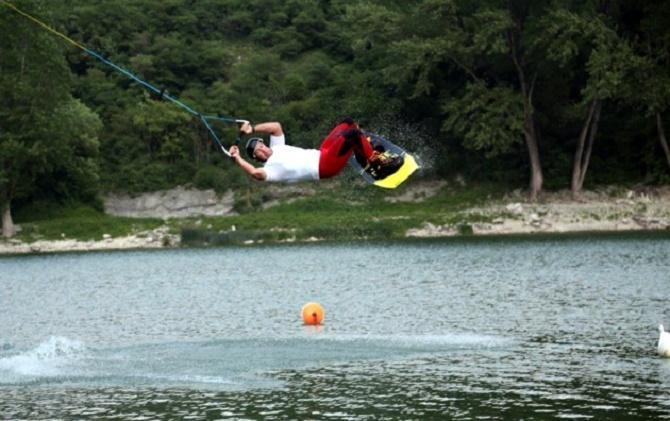 Lago Terlago - Wakebord 1