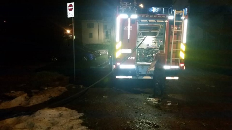 Vigili del fuoco Darfo - scantinati acqua