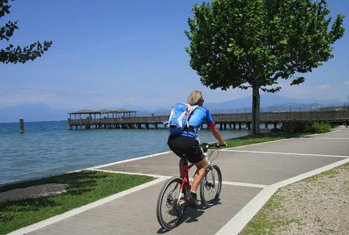bike tour garda