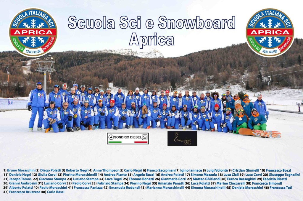 scuola sci aprica maestri