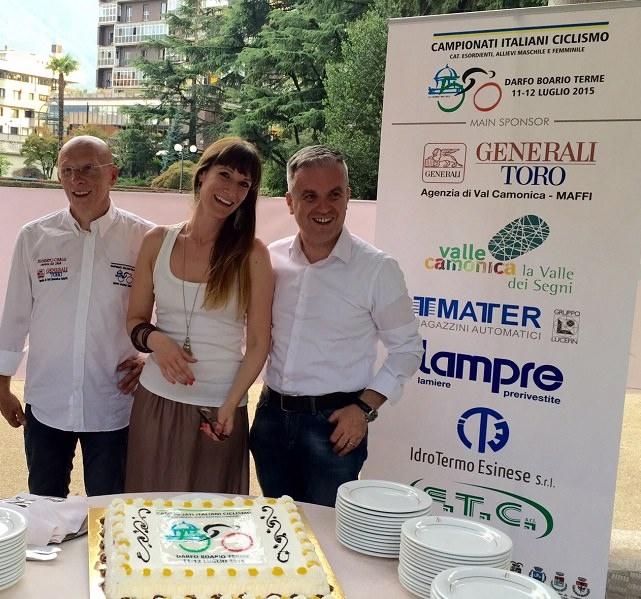 Richini-Gasparini-Maffi presentazione Campionati