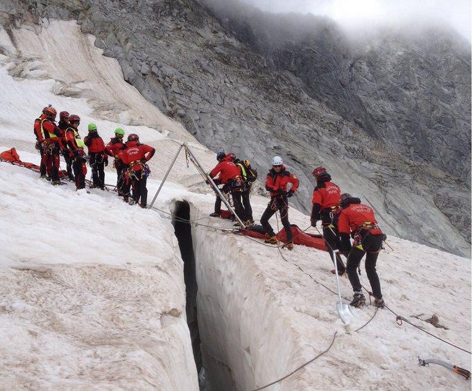 Soccorso Alpino in Adamello 10