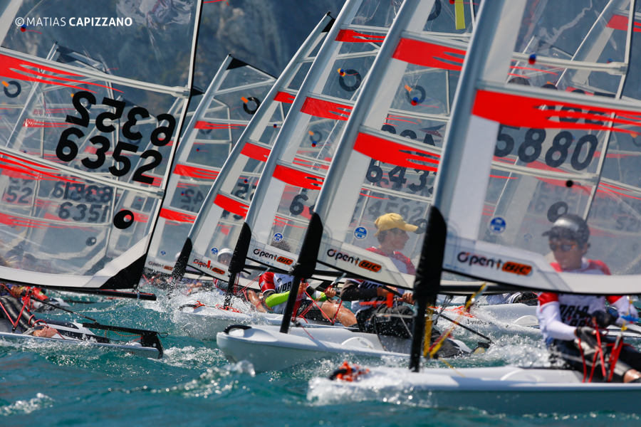 Races Day 3, 2013 Open Bic Worlds, Italy, Matias Capizzano