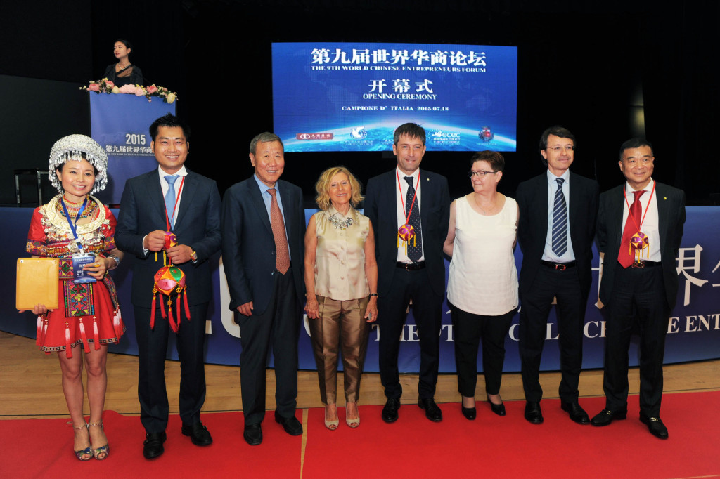 Casinò di Campione d'Italia 9° Forum Mondiale degli Imprenditori Cinesi