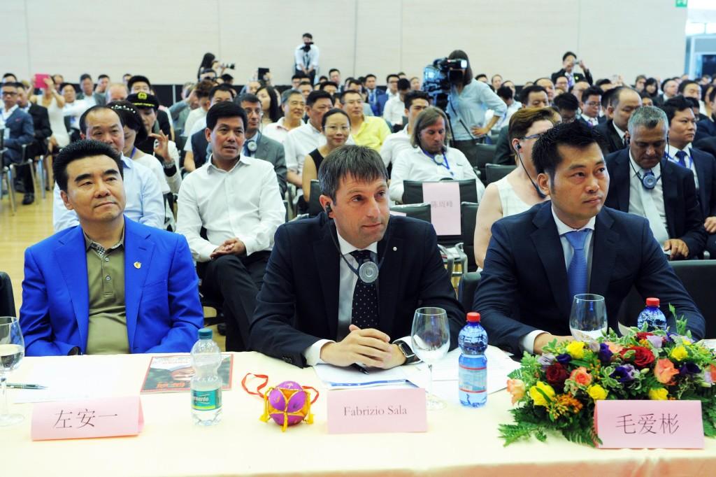 Casinò di Campione d'Italia 9° Forum Mondiale degli Imprenditori Cinesi, Fabrizio Sala Assessore Regione Lombardia con delega Expo