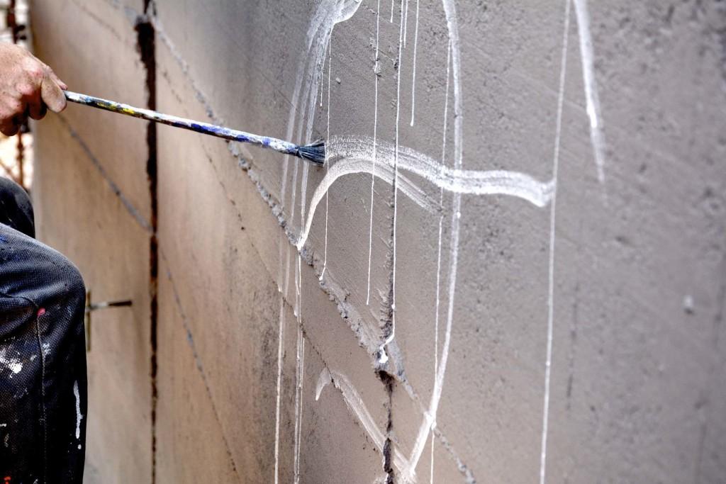 ozmo pittura muro arte