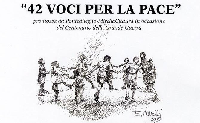 Ponte di Legno 42 voci pace