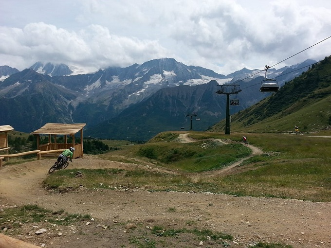 Tonale - bike park e villaggio