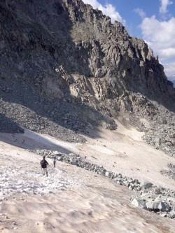 camminata nevaio escursioni