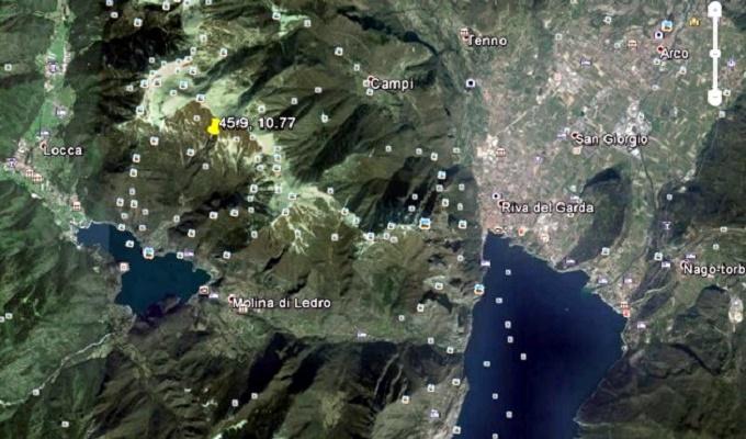 terremoto a Ledro