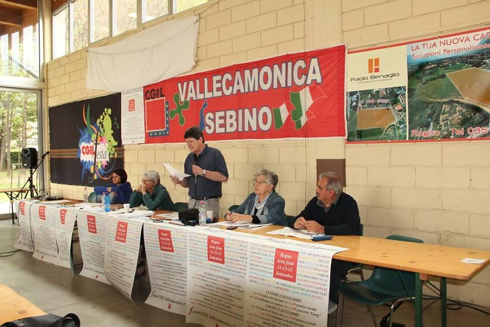 Cgil Valle Camonica Rogno