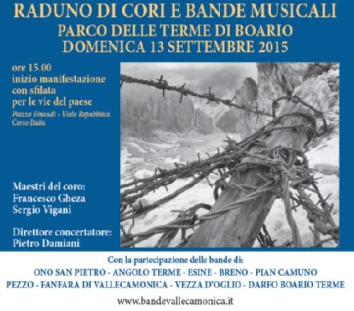 Raduno bande musicali Darfo Boario