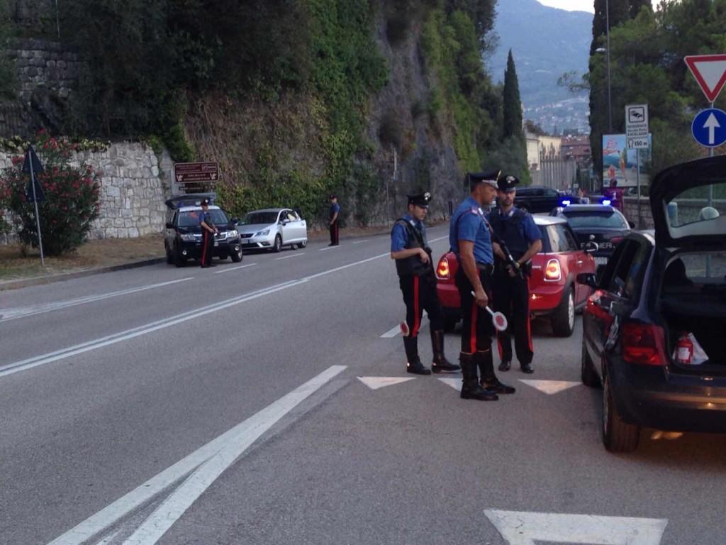 controlli strada carabinieri