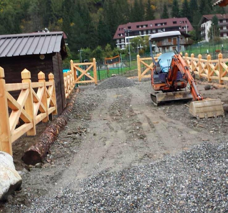 area cani ponte di legno