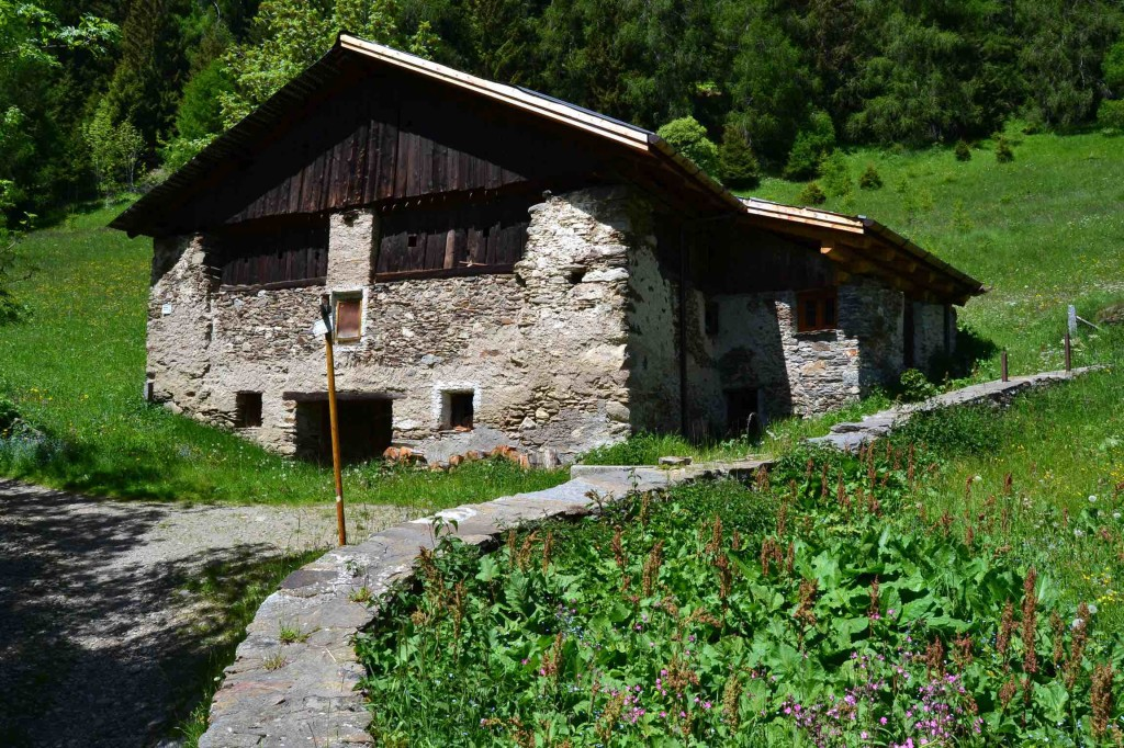 baita al maggengo di Premia, comune di Vione-