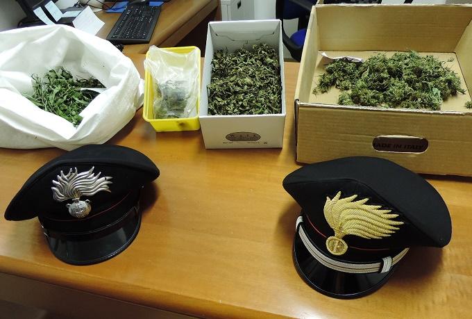 carabinieri Pieve di Bono - droga