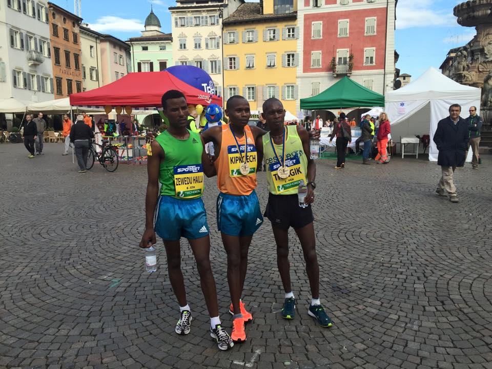 podio half marathon