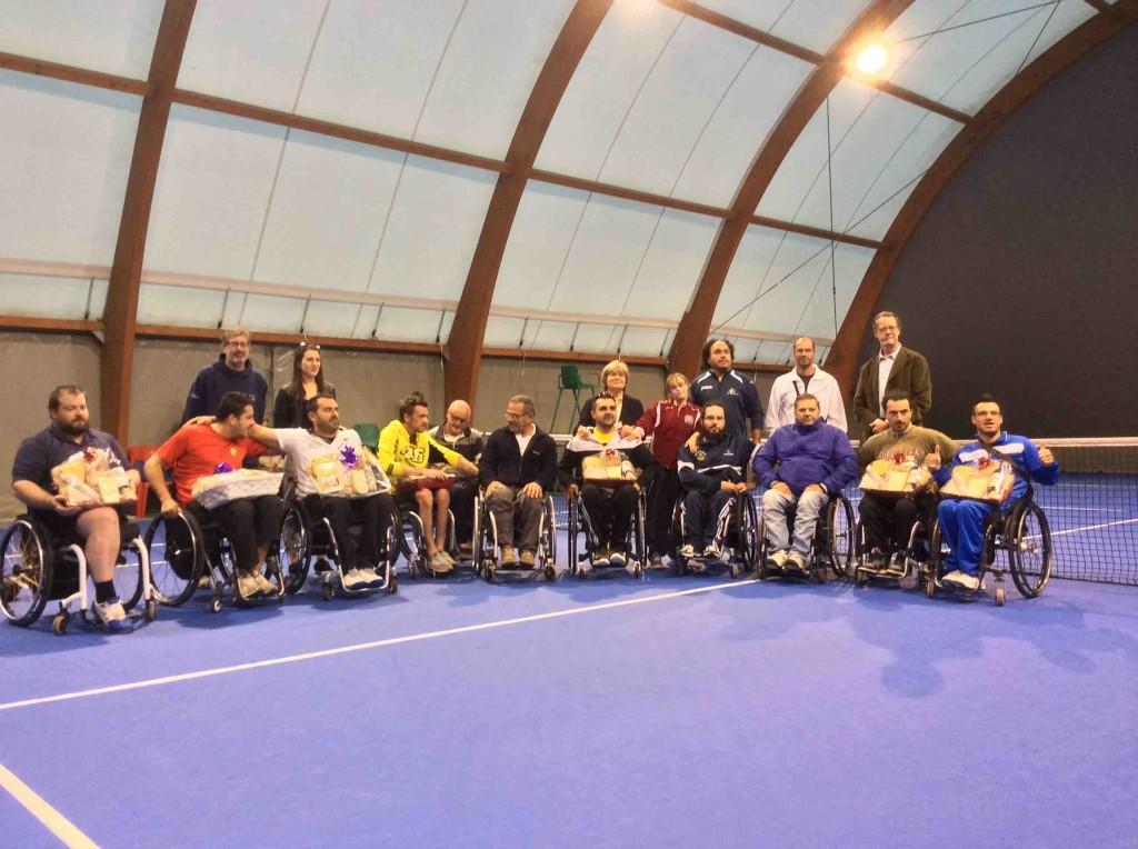 tennis in carrozzina polisportiva disabili valcamonica
