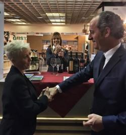 Luca Zaia con Arla Dell'Agnolo