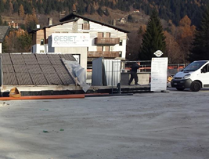Parcheggio piazzale Europa Ponte di Legno