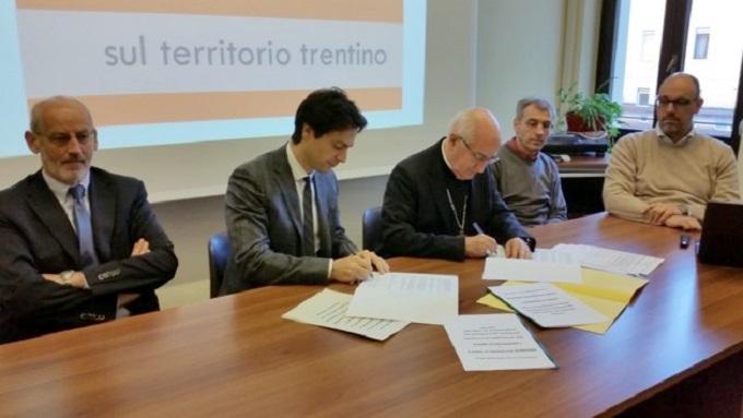 accordo diocesi provincia trento