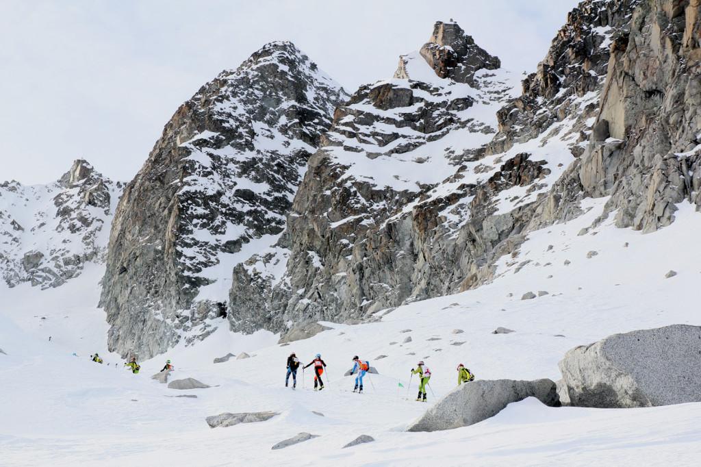 adamello ski raid junior alpinismo sci