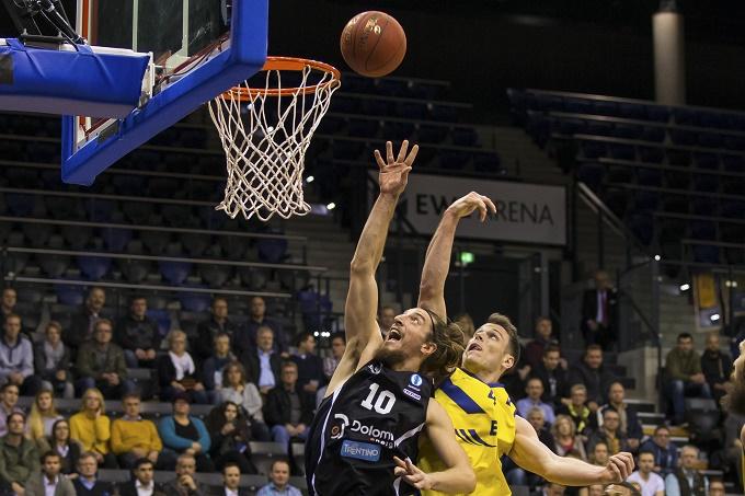25.11.2015 Eurocup 7. Spieltag: EWE Baskets - Dolomiti Energia Trento