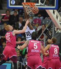 trento basket bonn eurocup