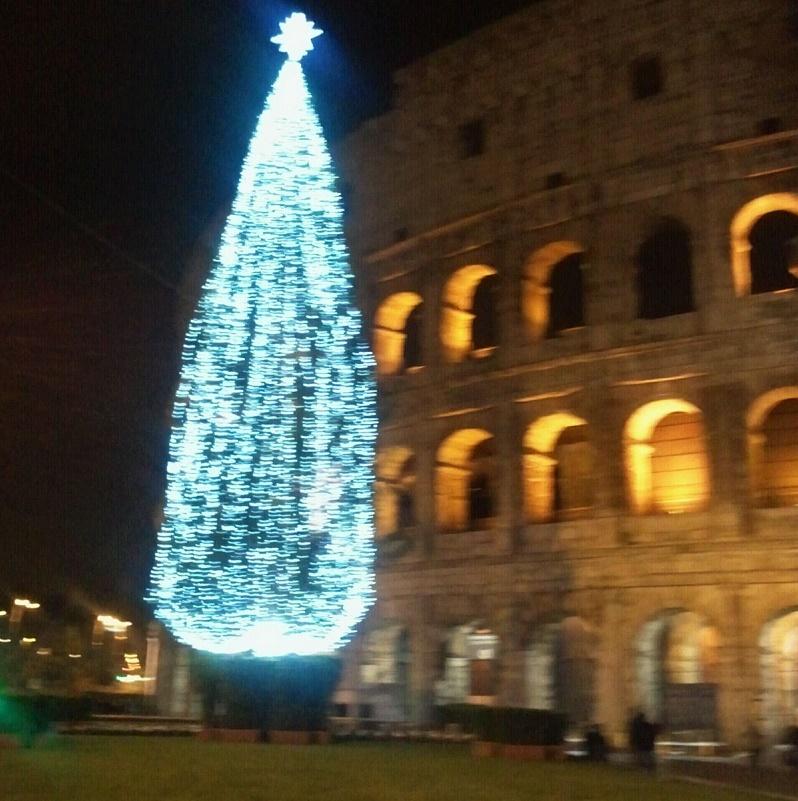 Albero Natale ColosseoRoma