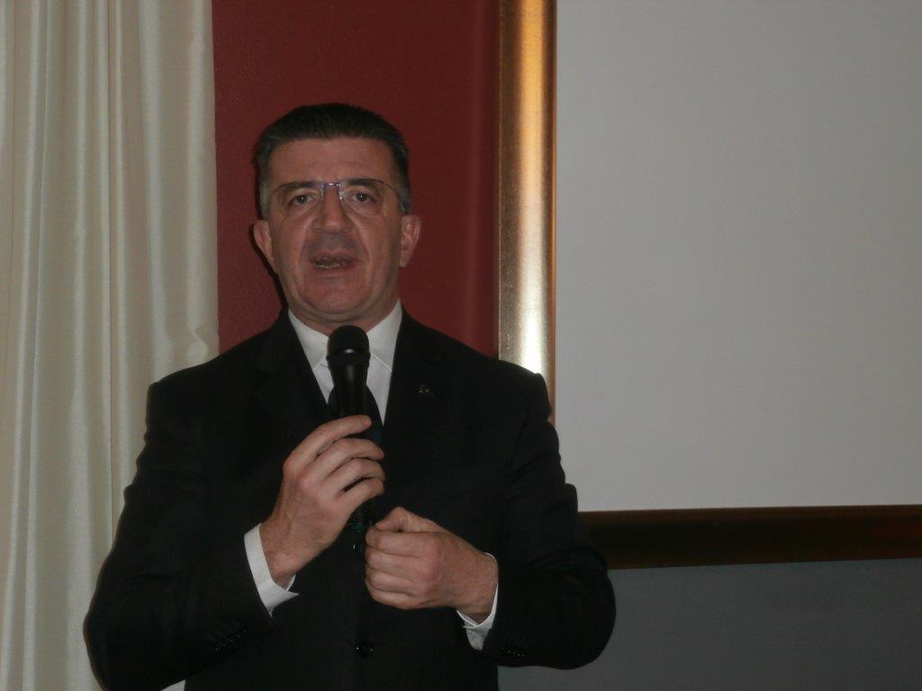 Il governatore lombardo Lorenzo Branzoni