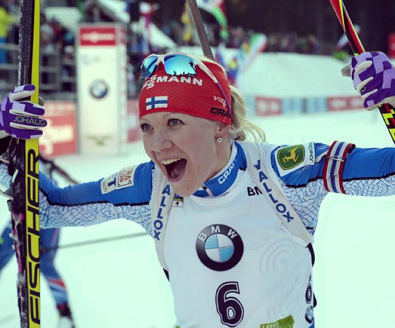 Kaisa Makarainen, biathlon