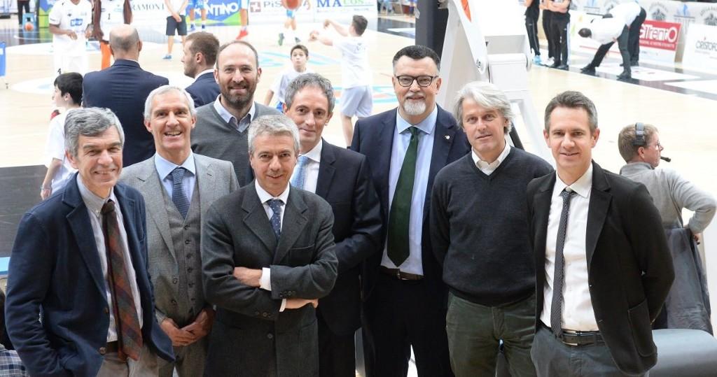 Nuovo Cda e collegio Aquila Basket trento