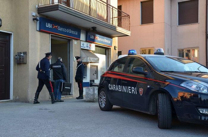 Rapina Poncareale - carabinieri