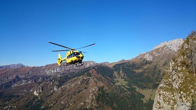 Soccorso Alpino bresciano elisoccorso 1
