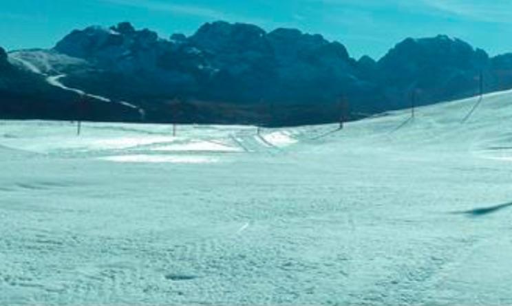 campiglio piste innevate neve