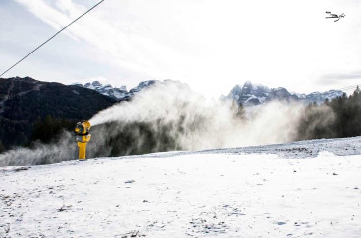 cannoni spara neve sci piste