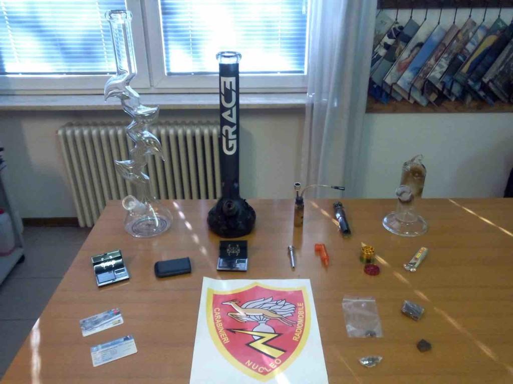 droga carabinieri trentino