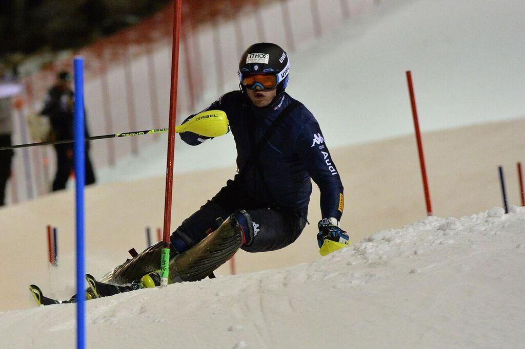 giuliano razzoli slalom campiglio sci alpino allenamenti