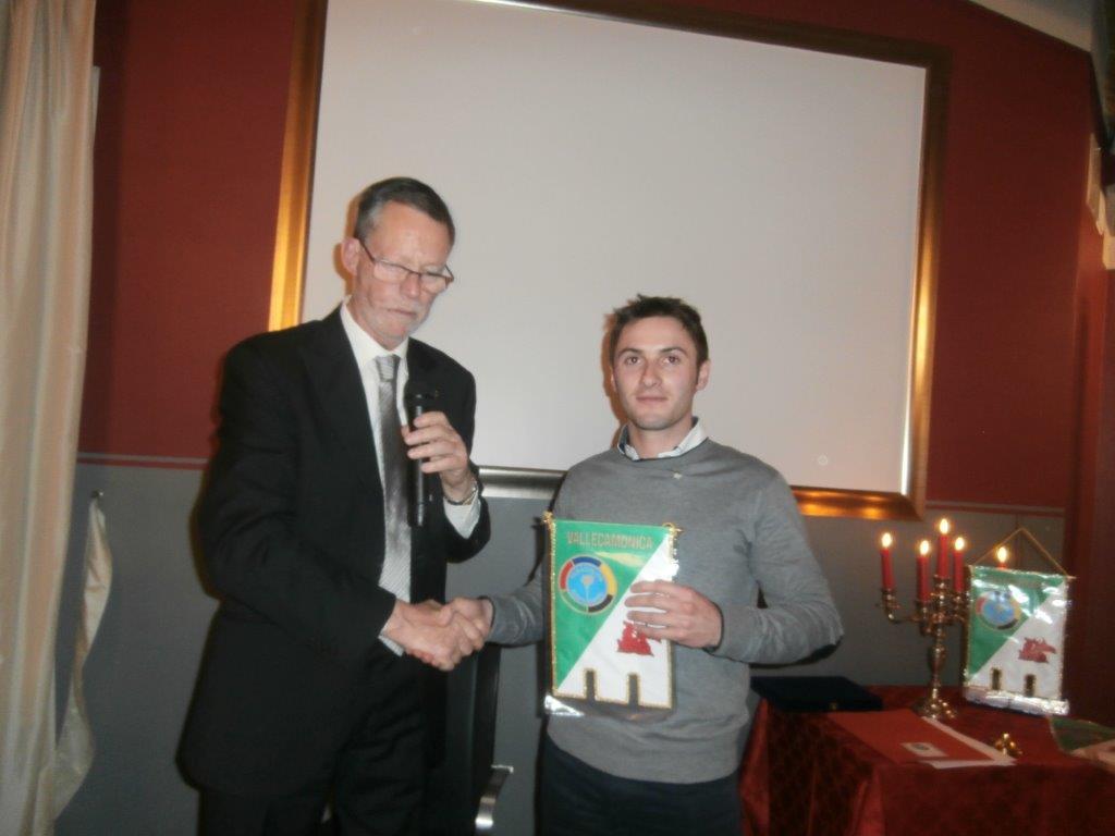 il dott. Gheza e il nuovo socio Francesco Franzoni
