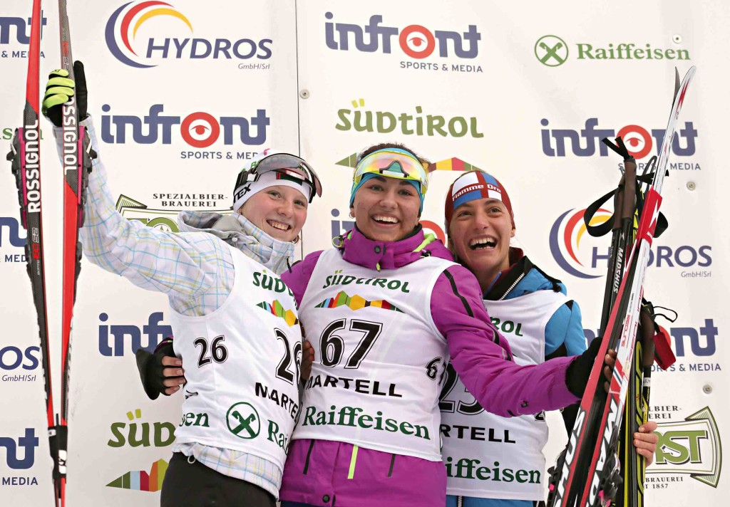 junior women biathlon