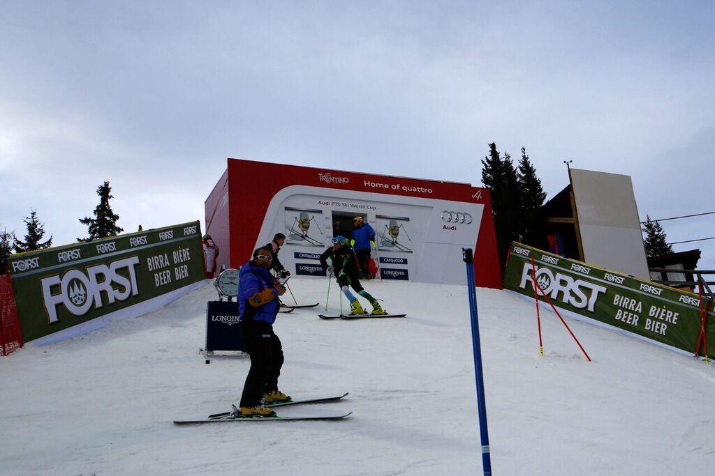 partenza slalom campiglio