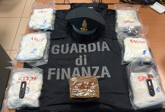 Finanza droga trento-Bolzano 1