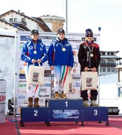 Slalom Gigante_Amicizia-Cism podio Femminile-1
