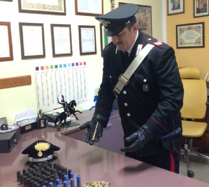 artogne carabinieri cartucce