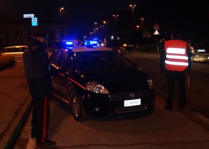 carabinieri controlli notturni