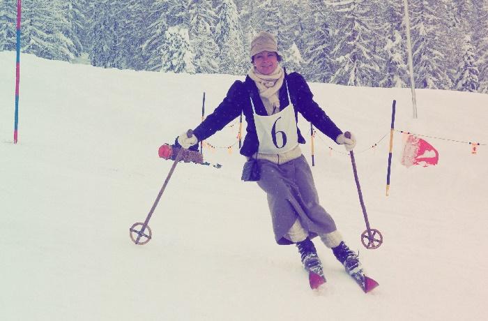 Nostalgie Skirennen Sils, engadin, 150 Jahre Tourismus, ski, nostalgieski, skirennen,tradition, corvatsch, furtschellas,skigebiet,skifahren,schnee,skigebiet